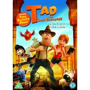 Tad the Lost Explorer and the Secret of King Midas DVD