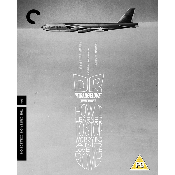Dr Strangelove - How I Learned To Stop Worrying And Love The Bomb - Criterion Collection Blu-Ray