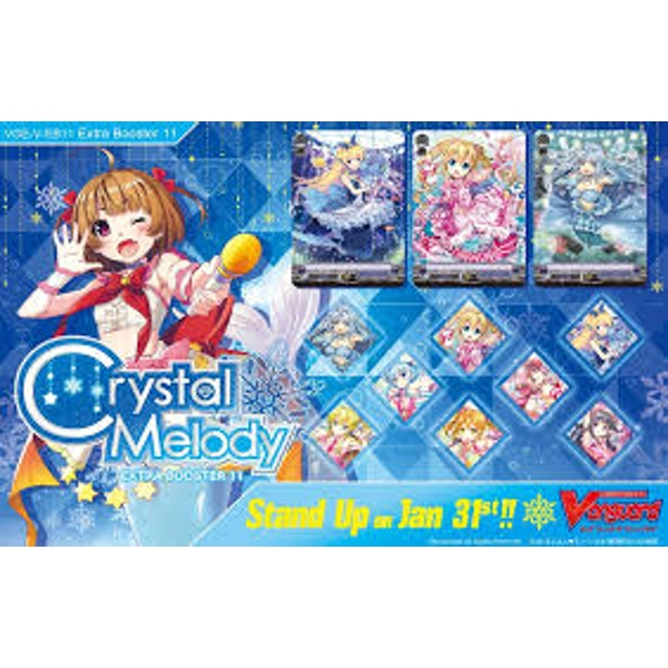 CardFight Vanguard TCG: Crystal Melody Extra Booster Box (12 Packs)