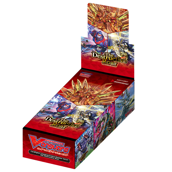 Cardfight Vanguard TCG: The Destructive Roar Booster Box (12 Packs)