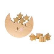 Sass & Belle Sweet Dreams Moon & Stars Wooden Balancing Game
