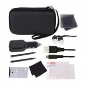 Crown Deluxe 12-in-1 Accessory Pack Black 3DS XL