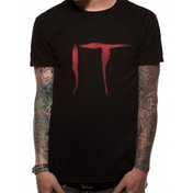 IT - Logo Men's Small T-Shirt - Black
