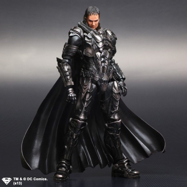 DC Man Of Steel Play Arts Kai Action Figure General Zod