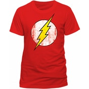 The Flash - Logo Men's XXXXX-Large T-Shirt - Red