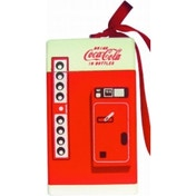 Coca Cola Wooden Vending Machine Christmas Tree Decoration