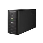 Trust Oxxtron 1500VA Compact Black uninterruptible power supply (UPS)