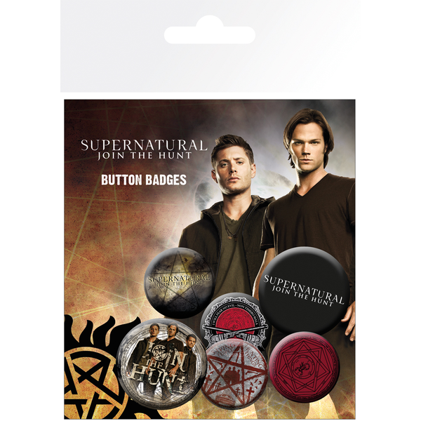 Supernatural Saving People Badge Pack - Image 1