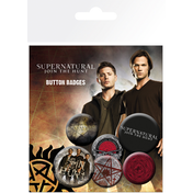 Supernatural Saving People Badge Pack