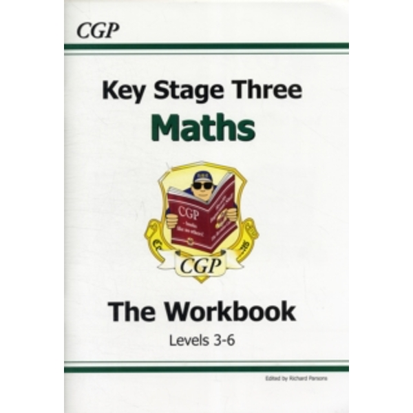 KS3 Maths Workbook - Levels 3-6 by CGP Books (Paperback, 1999)