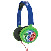 Lexibook HP015PJM PJ Masks Foldable Stereo Headphones with Volume Limiter
