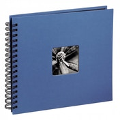 Fine Art Spiral Bound Album 36x32cm 50 black pages (Azure)