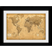 World Map Antique Style Collector Print - Image 2
