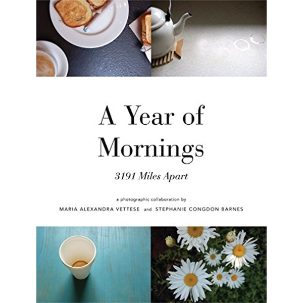 A Year of Mornings: 3191 Miles Apart by Maria Vettese, Stephanie Congdon Barnes (Paperback, 2008)