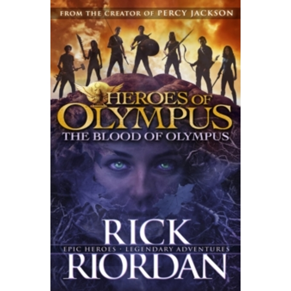 The Blood of Olympus (Heroes of Olympus Book 5) by Rick Riordan (Paperback, 2015)