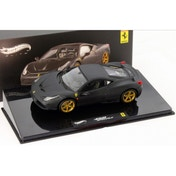 Hot Wheels 1:43 Ferrari 458 Speciale Matte Black Diecast