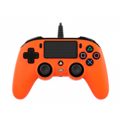 Nacon Compact Wired Controller (Orange) PS4