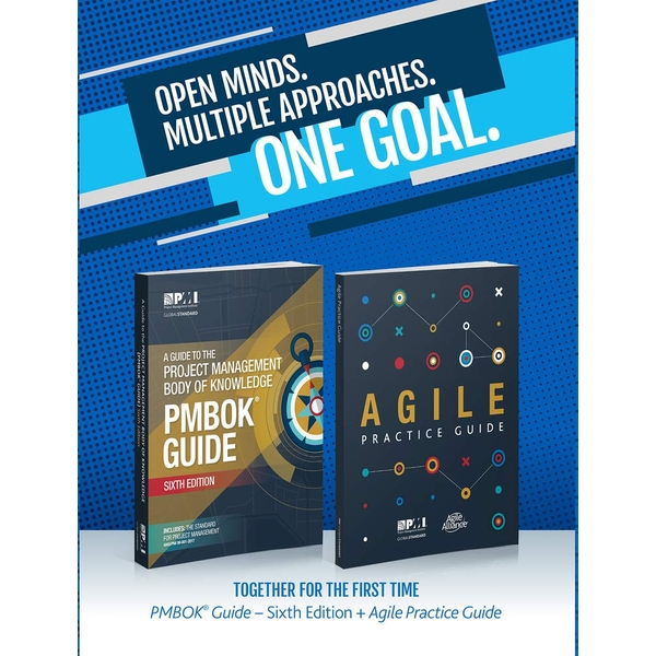 A guide to the Project Management Body of Knowledge (PMBOK guide) & Agile practice guide bundle Paperback - 30 Sept. 2017