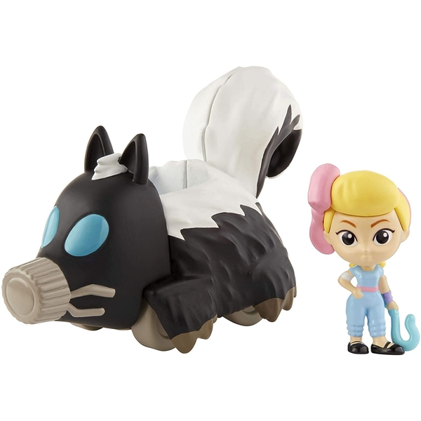 Toy Story - Bo Peep Mini Figure and Skunkmobile Vehicle