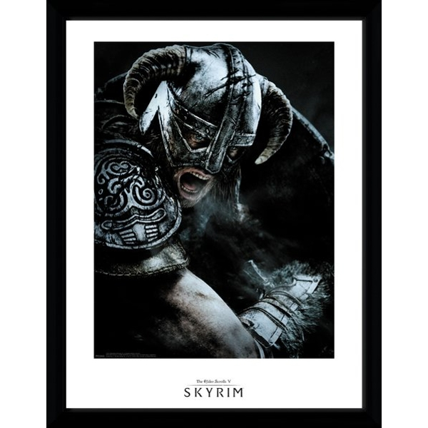 Skyrim - Attack Collector Print