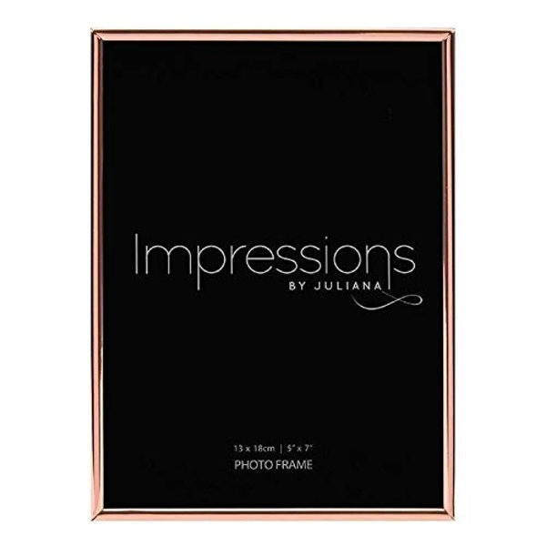 "5"" x 7"" - Copper Plated Thin Edged Photo Frame"