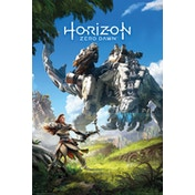 Horizon Zero Dawn Key Art Maxi Poster