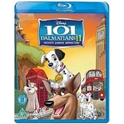 Disney 101 Dalmatians 2 II Patches London Adventure Blu-ray