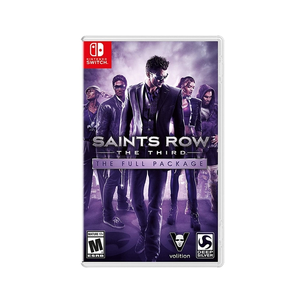 Saints Row The Third Full Package Nintendo Switch Game