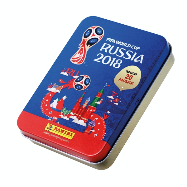 FIFA World Cup 2018 Sticker Collection Mega Tin - Image 1