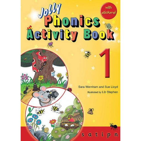Jolly Phonics Activity Book 1: in Precursive Letters (BE) by Sue Lloyd, Sara Wernham (Paperback, 2010)