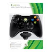 Elite Official Wireless Controller With Play & Charge Kit BLACK Xbox 360