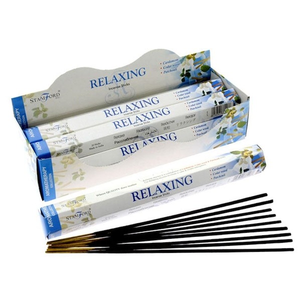 Relaxing (Pack Of 6) Stamford Hex Incense Sticks