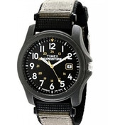 Timex Unisex T42571 Quartz Expedition Camper Watch With Black Dial Analogue Display And Black Nylon