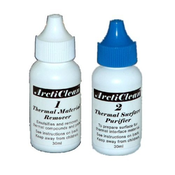 Arctic Silver ArctiClean Thermal Material Remover and Surface Purifier 60ml Kit