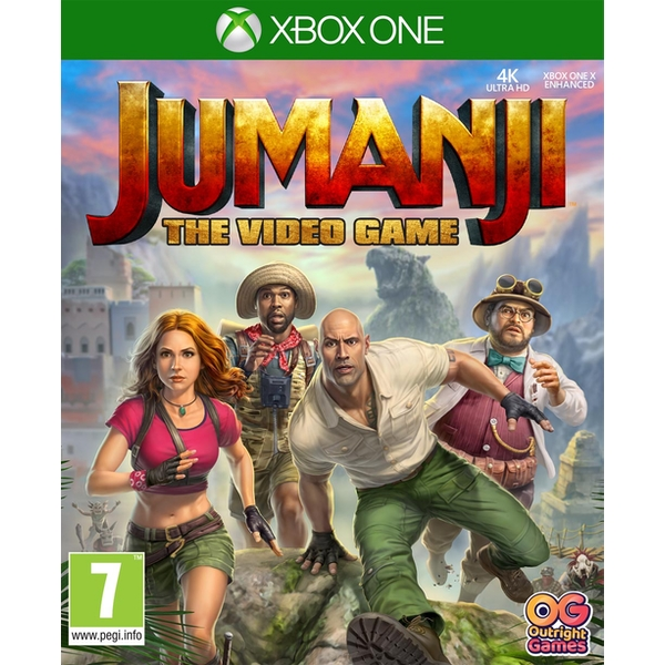 Jumanji The Video Game Xbox One Game - Image 1