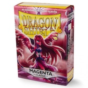 Dragon Shield Classic - Magenta 60 Sleeves In Box - 10 Packs