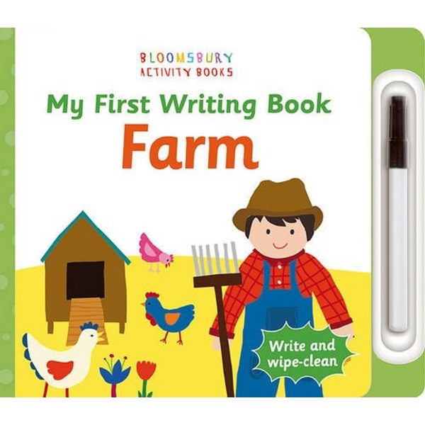 My First Writing Book Farm by Bloomsbury Publishing PLC (Board book, 2017)