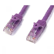 StarTech 2m Purple Gigabit Snagless RJ45 UTP Cat6 Patch Cable