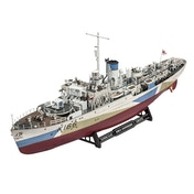 Flower Class Corvette Military Ship Revell 1:144 Scale Model Kit