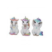Three Wise Cutiecorns Figures