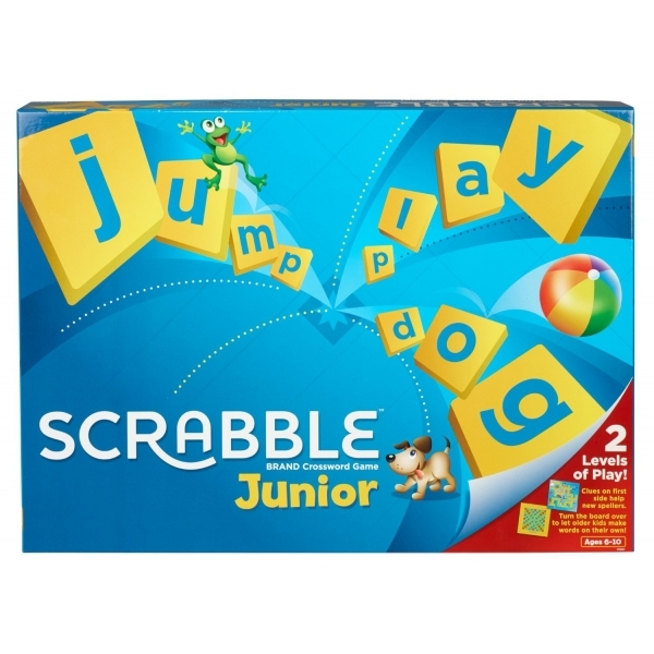Ex-Display Junior Scrabble 2013 Refresh Edition Board Game Used - Like New