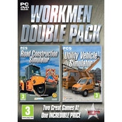 Workman Double Pack (Road Construction & Utility Vehicle) Simulator Game PC