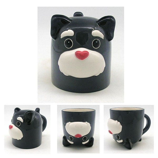 Dog Squad Upside Down Ceramic Mug