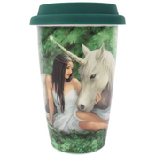 Anne Stokes Pure Heart Travel Mug