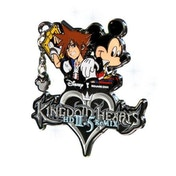 Kingdom Hearts 2.5 HD Remix Limited Edition Pin Badge Disney
