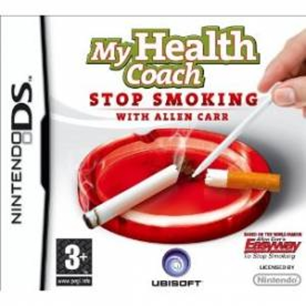 My Health Coach Stop Smoking With Allen Carr Game DS