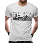 Neck Deep - Manga Men's Small T-Shirt - White