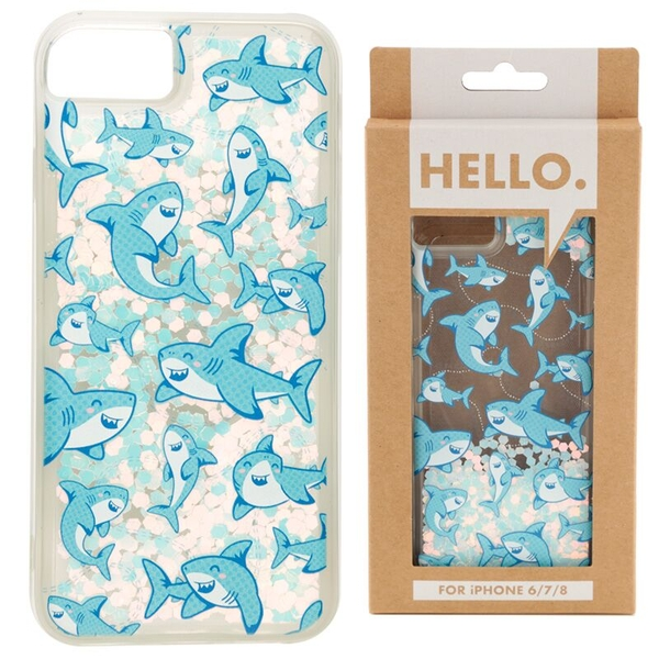 Shark Design iPhone 6/7/8 Phone Case