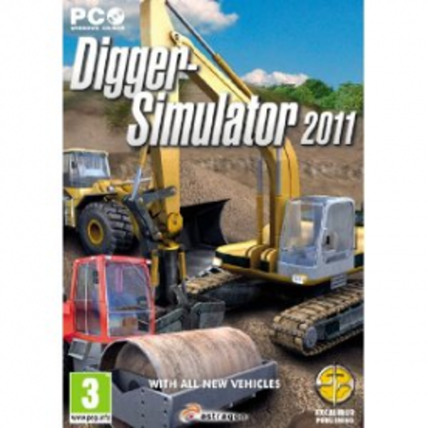 Digger Simulator 2011 Game PC - Image 1