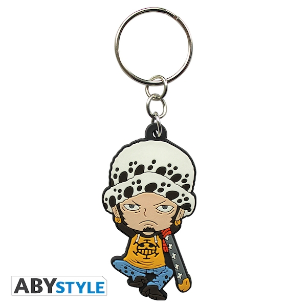 One Piece - Trafalgar Law Sd PVC Keyring